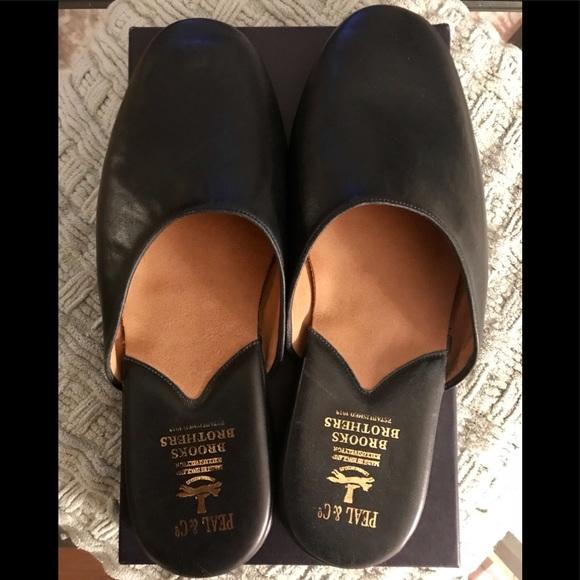 Peal Co Brooks Brothers Napa Leather